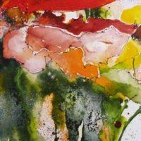 Mischtechnik auf Leinwand<br />        Blumenbouquet                   50x50           Fr. 650
