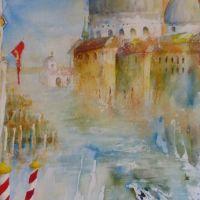 Santa Maria della Salute, Venedig<br />                            50x70           Fr. 750